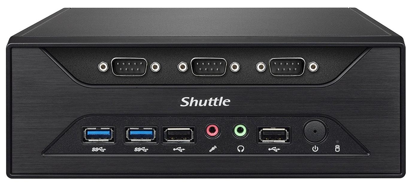 Shuttle BB XC60J, J3355, fanless, VGA/HDMI, 24x7