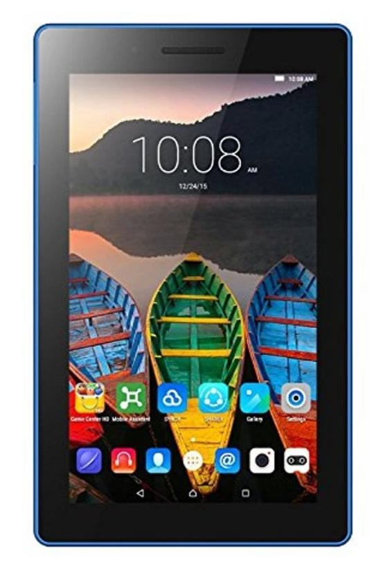Lenovo Tab3 7 Essential 17,78 cm (7 Zoll IPS) Tablet (MediaTek MT8127 Quad-Core Prozessor, 1GB RAM, 8GB eMMC, Touchscreen, Android 5.0) schwarz