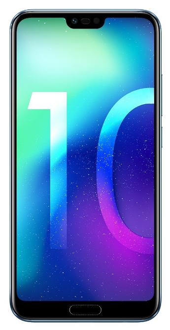 Honor 10 Smartphone (14,83 cm (5,84 Zoll), Full HD+ Touch-Display, 64GB interner Speicher, 4GB RAM, Silber