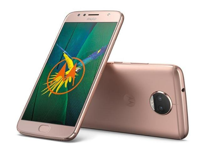 Motorola Moto G5s Plus Smartphone 13,97 cm (5,5 Zoll), (13MP Kamera, 3GB RAM/32GB, Android) blush gold