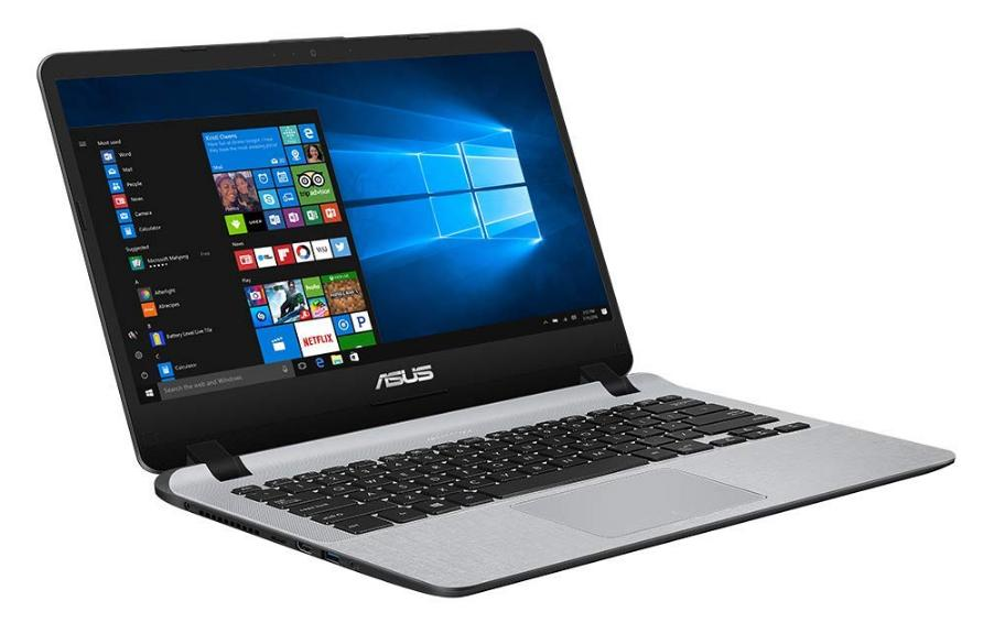 Asus VivoBook F407MA-EB789T Notebook, 14 Zoll Full-HD, Intel Pentium N5000, 8GB RAM, 256GB SSD, Windows 10