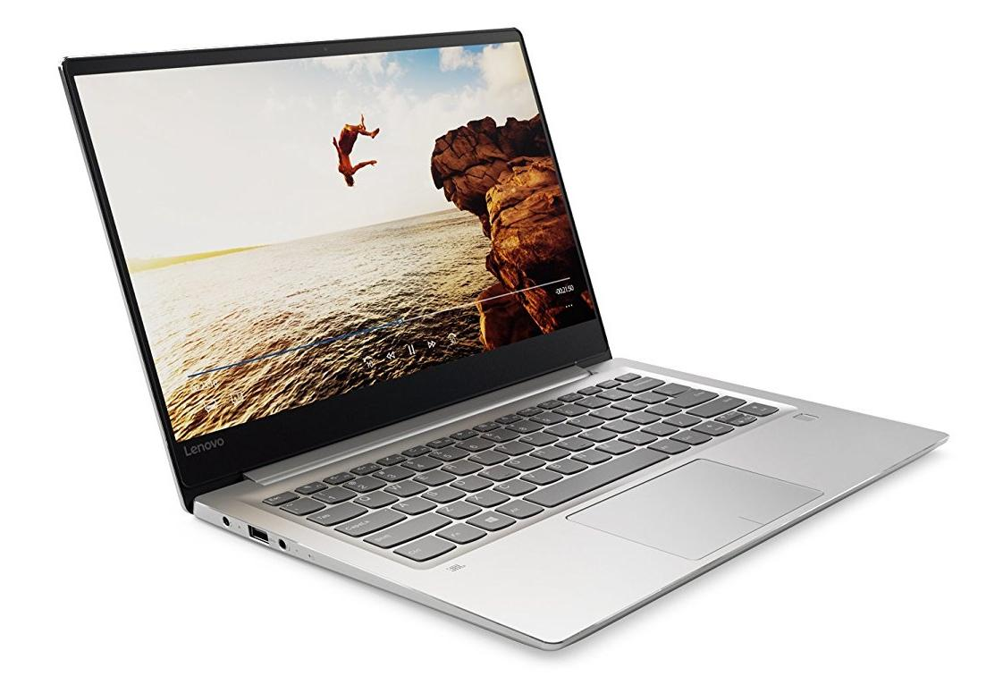 Lenovo IdeaPad 710S 33,8 cm (13,3 Zoll Full HD IPS Anti-Glare) Slim Notebook (Intel Core i7-7500U Dual-Core, 8 GB RAM, 256 GB SSD, Nvidia GeForce 940MX 2 GB, Windows 10 Home) silber