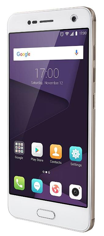ZTE 126664001013 Blade V8 Smartphone (13,2 cm (5,2 Zoll) Display, 32GB Speicher, Android 7.0) gold