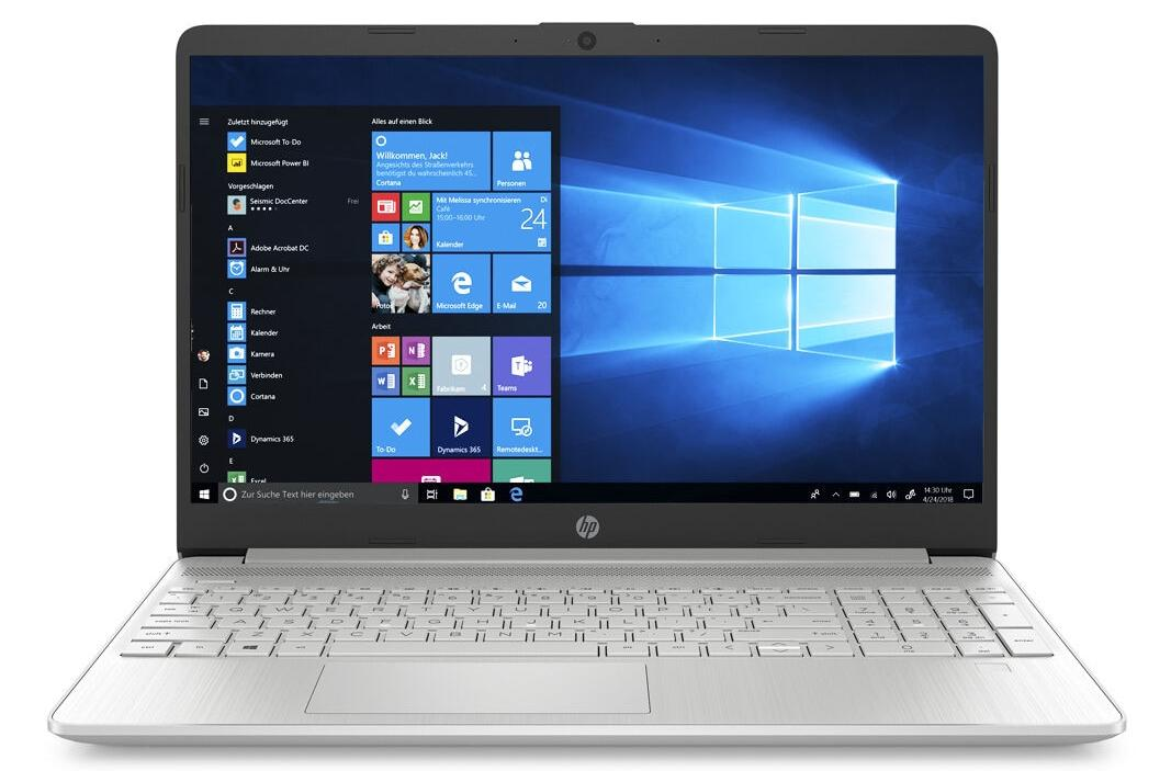 Hewlett Packard (HP) 15s-fq1132ng 15,6 Zoll Full-HD IPS, Intel Core i5-1035G1, 8GB RAM, 256GB SSD + 16GB Boost, Windows 10