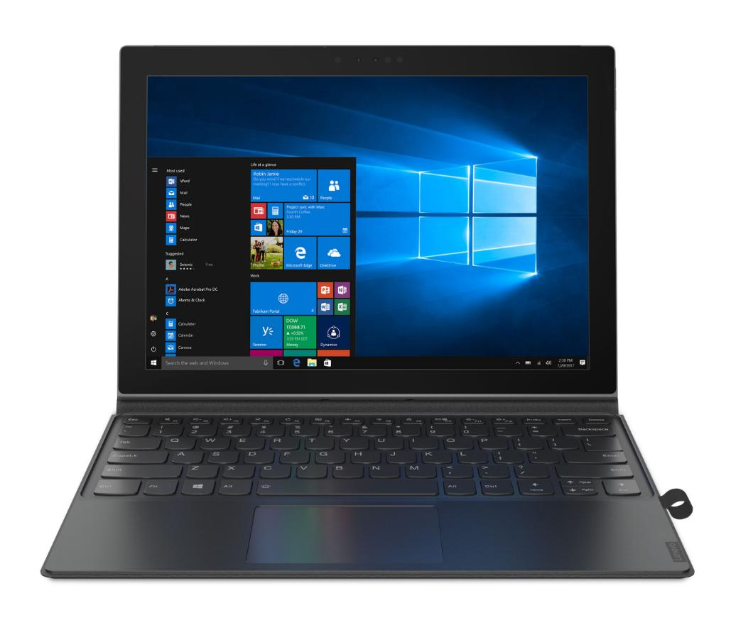 Lenovo IdeaPad MIIX 630 Tablet, 12.3 Zoll Full-HD IPS, Octa-Core, 8GB RAM, 128GB Flash, LTE, Windows 10 S