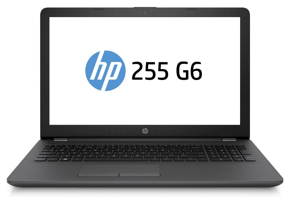 Hewlett Packard (HP) 255 G6 Notebook, 15.6 Zoll HD Display, AMD Dual-Core E2-9000E, 4GB DDR4, 1000GB HDD, kein Betriebssystem