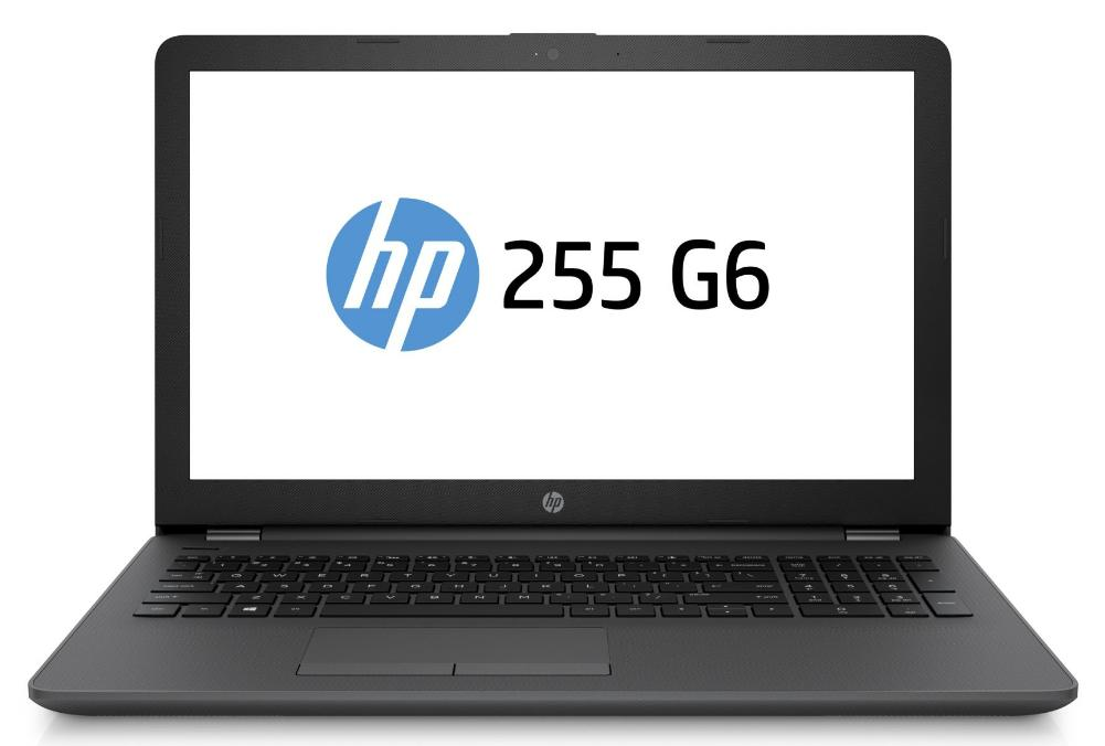Hewlett Packard (HP) 255 G6 Notebook, 15.6 Zoll HD Display, AMD Dual-Core E2-9000E, 4GB DDR4, 500GB HDD, Win10