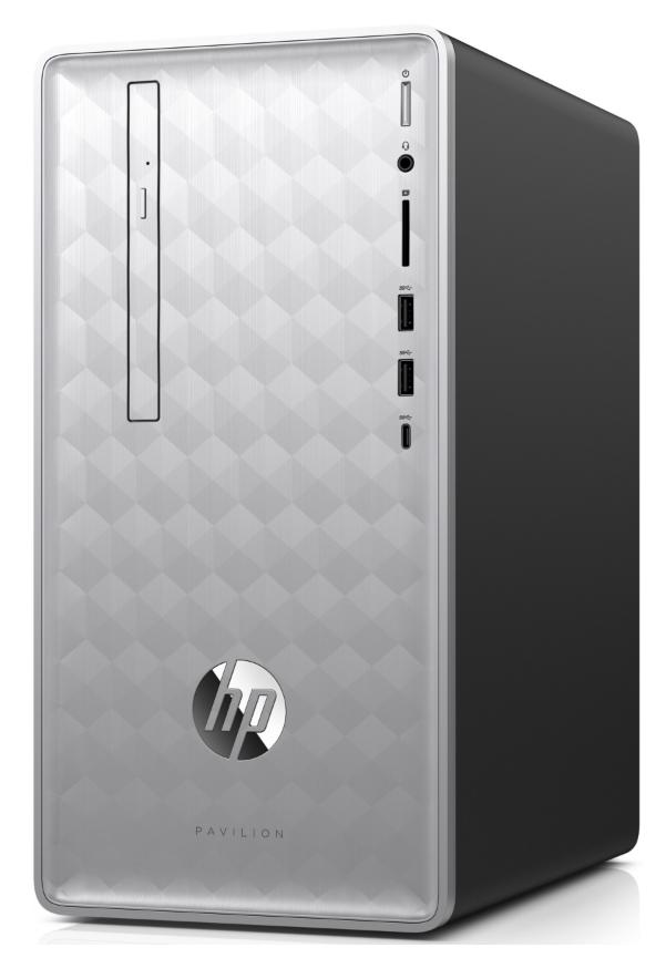 Hewlett Packard (HP) Pavilion Desktop 590-p0721ng Intel Core i5-8400 2.8GHz, 8GB RAM, 256GB SSD, 1TB HDD, GTX 1050Ti, FreeDOS