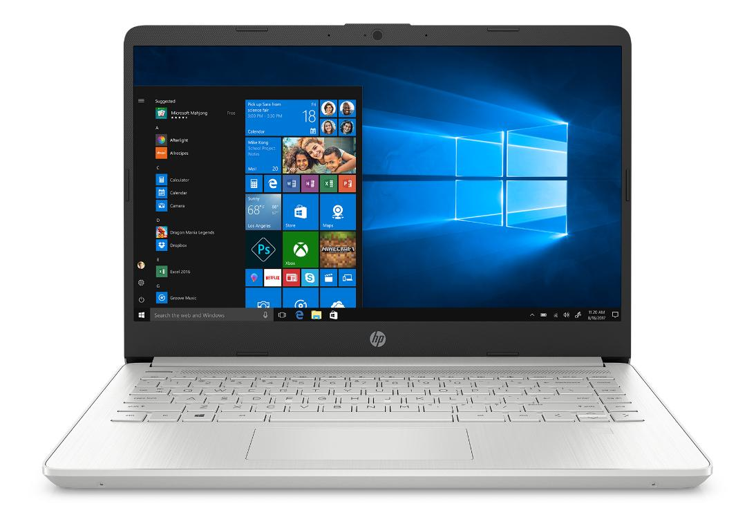 Hewlett Packard (HP) 14s-dq1134ng Notebook, 14 Zoll Full-HD IPS, Intel i5-1035G1, 8GB RAM, 256GB SSD + 16GB, Windows 10