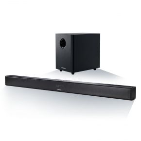 Grundig GSB 980 (schwarz) - 2.1 Soundbar (Bluetooth, Wireless Subwoofer, HDMI)