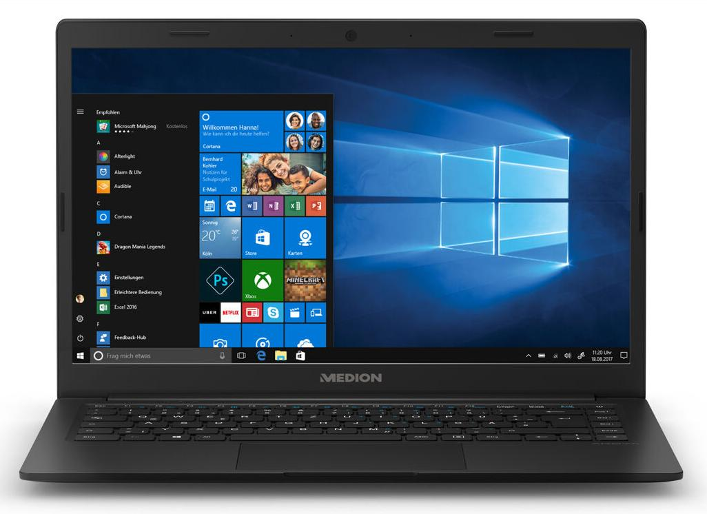 Medion AKOYA E4251 14 Full HD IPS, Intel Pentium N5000, 8GB DDR4, 256GB SSD, Windows 10 Home