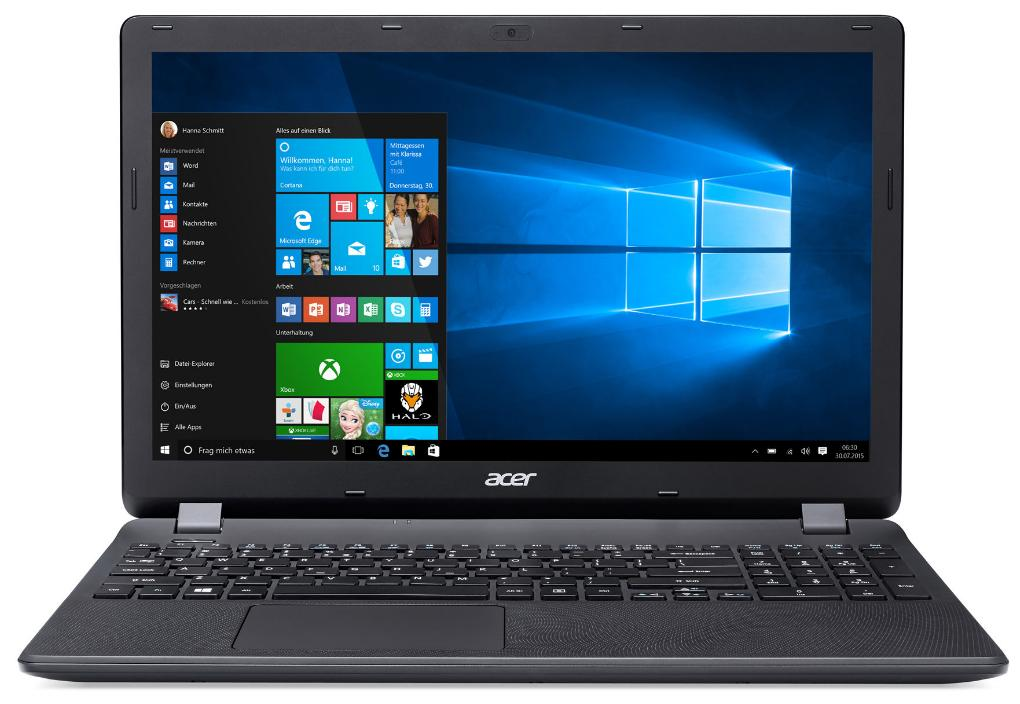 Acer Extensa 2519-P35U Notebook, 15.6 Zoll mattes Display, Intel Quad-Core N3710, 4GB RAM, 500GB HDD, kein Betriebssystem