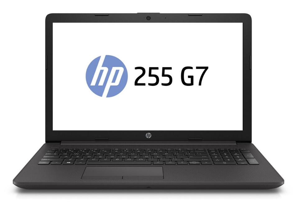 Hewlett Packard (HP) 255 G7 Notebook, 15,6 Zoll HD Display, AMD A4-9125, 8GB RAM, 1TB HDD, Win10