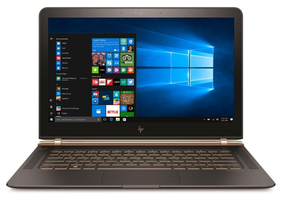 Hewlett Packard (HP) Spectre 13-v001ng 13,3 Full-HD , Intel Core i5-6200U , 8GB RAM , 256GB SSD