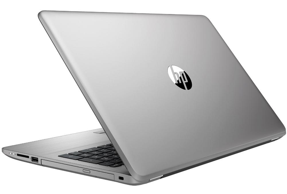 Hewlett Packard (HP) 250 G6 SP Notebook, 15,6 Zoll HD Display, Intel Dual-Core, 4GB, 128GB SSD, DVD, kein Betriebssystem