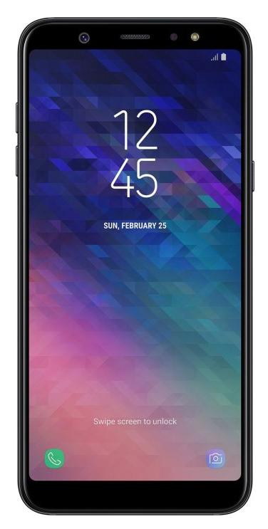 Samsung Galaxy A6+ 32GB Schwarz EU [15,36cm (6,0) FHD+ Display, Android 8.0, 1.8GHz Octa-Core, 16MP]