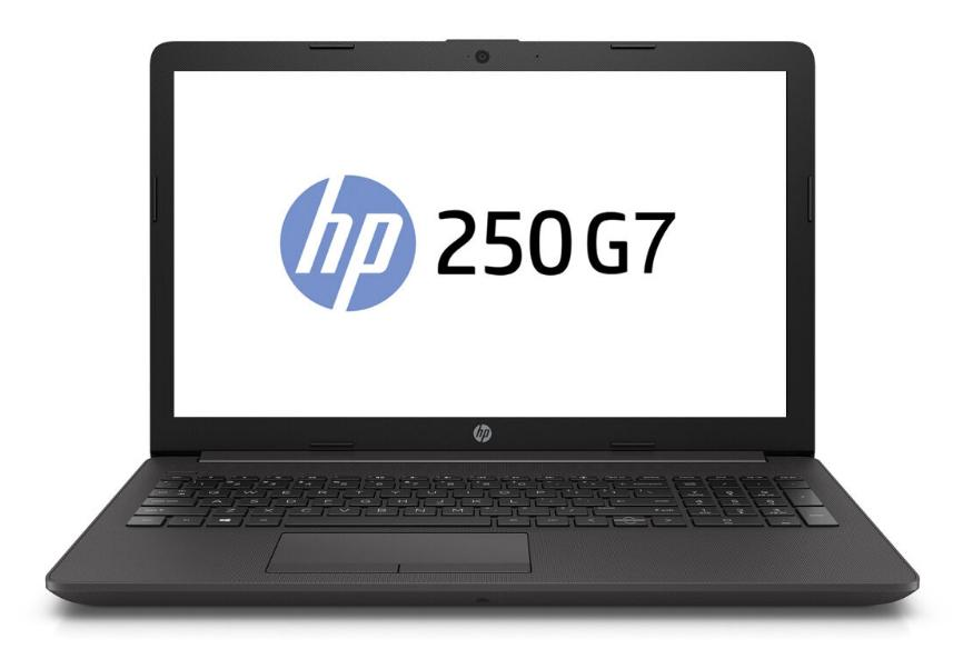 Hewlett Packard (HP) 250 G7 Notebook, 15.6 Zoll Full-HD Display, Intel Core i5-8265U, 8GB RAM, 256GB SSD, DVD-Brenner, FreeDOS