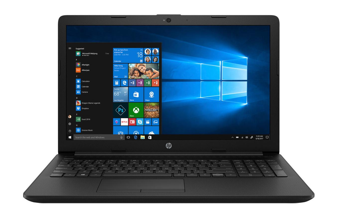 Hewlett Packard (HP) 15-db1002ng 15,6 Full HD, AMD Ryzen 3 3200U Dual-Core, 8GB DDR4, 128GB SSD + 1TB HDD, DVD, Windows 10