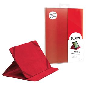 Sweex Tablet Folio Case 8 Red