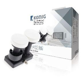 König LNB Single Monoblock 4,3 Grad 1.1 dB