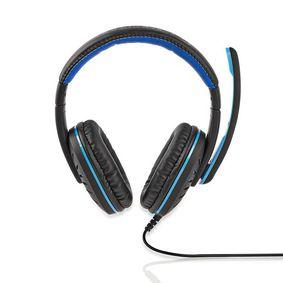 Nedis Gaming Headset | Over-Ear | Mikrofon | 3,5-mm-Stecker