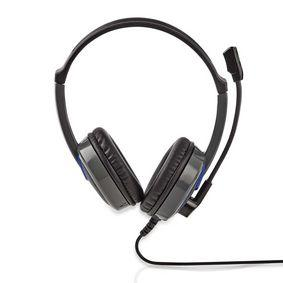 Nedis Gaming-Headset | Over-Ear | Mikrofon | 3,5-mm-Stecker