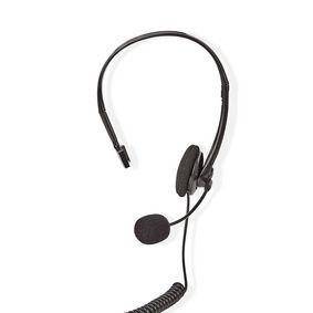 Nedis PC-Headset | On-Ear | RJ9-Steckverbinder | 2,2 m | Schwarz