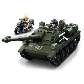 Sonstige Bausteine WWII Serie SU-85 Allied Tank Destroyer