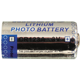 Kinetic Lithium-Batterie CR123A 3 V 1-Blister