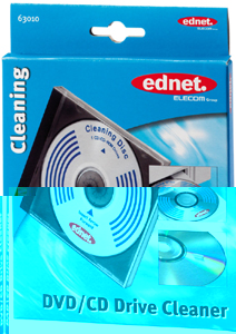 Ednet Reinigungs CD/DVD