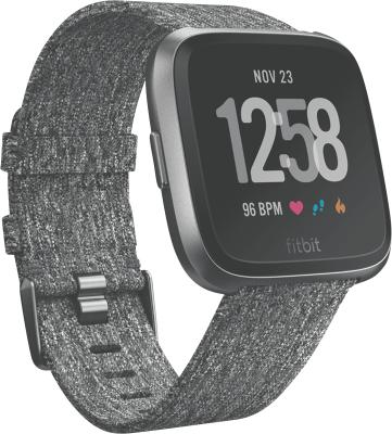 Fitbit Versa Edition, graphitgraues Armband