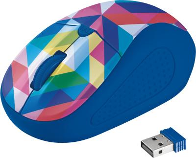 Trust Primo Wireless Mouse geometry