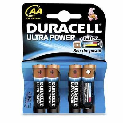 Duracell AA, MX 1500/LR06 Ultra Power Mignon 4er Blister