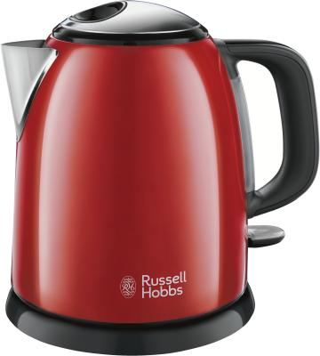 Russell Hobbs Colours Plus+ Mini-Wasserk. Flame Red