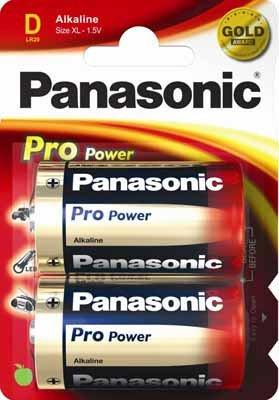 Panasonic LR20PPG/2BP Pro Power 2er Blister