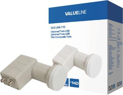 Valueline Universal-Twin-LNB, 0,3dB