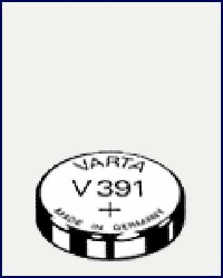 Varta V 391 Watch Packungsinhalt: 1