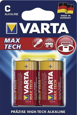 Varta 4714 LONGLIFE Max Power C Baby 2er Blister