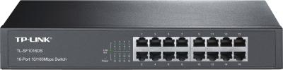 TP-Link TL-SF1016DS V3.0 16-Port-10/100Mbit/s-Switch