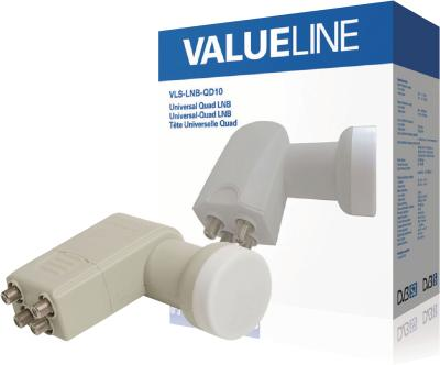 Valueline Universal-Quad-LNB, 0,3dB