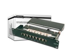 Digitus CAT 6, Patch Panel, geschirmt