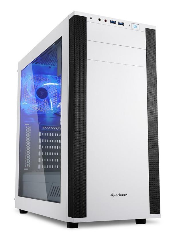 Computerhaus Gamer Komplettsystem *WHITE-EDITION* Intel Core i7-9700K 8x 3.60GHz, 16GB RAM, 500GB SSD, DVD-Brenner