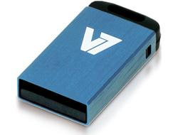 V7 USB NANO STICK 16GB BLUE