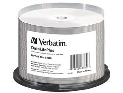 Verbatim DVD-R AZO 4.7GB SPINDLE50PCS