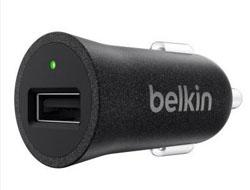 Belkin CAR CHARGER 2400MA, BLACK