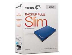 Seagate Backup Plus Port. 1TB Silver