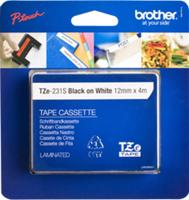 Brother TZE-231S LAMINATED TAPE 12MM