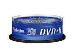 Verbatim DVD+R 4.7GB 16X SCRATCH