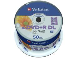 Verbatim DVD+R 8.5GB 8X DOUBLE LAYER