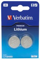 Verbatim BATTERY LITHIUM CR2450